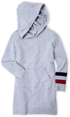Erge Girls 7-16) Grey Fleece Hoodie Dress