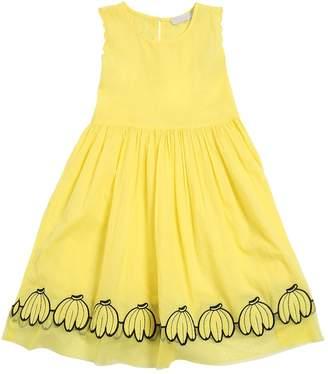 c7715911c601 ... Stella McCartney Banana Patch Cotton Muslin Dress