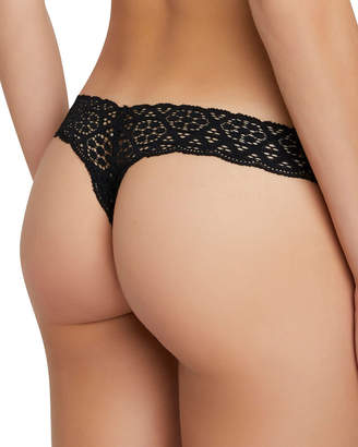 Eberjey Kaia Seamless Lace Thong
