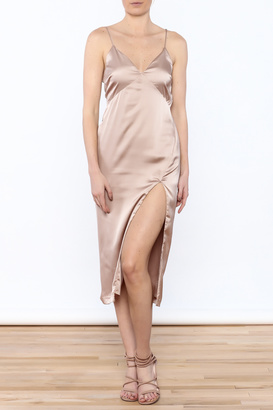 Cotton Candy Champagne Slip Dress $58 thestylecure.com