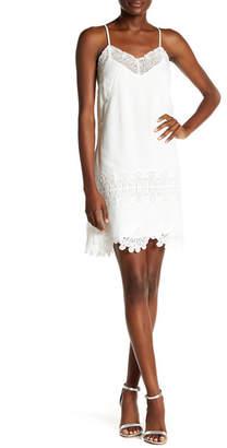Willow & Clay Lace Trim Slip Dress