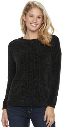 2ef9cadc70f Sonoma Goods For Life Women s SONOMA Goods for Life Chenille Crewneck  Sweater