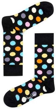 Happy Socks Big Dot Crew Socks