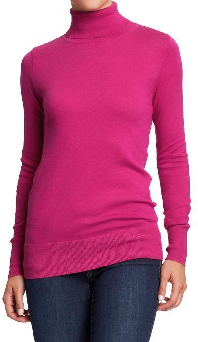 Old Navy Women's Fine-Gauge Turtleneck Sweaters