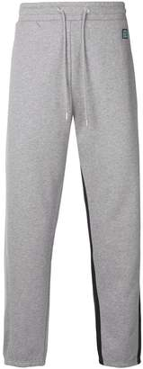 Kenzo two tone track trousers