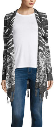 BY AND BY by&by Long Sleeve Cardigan-Juniors