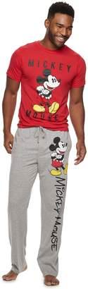 Men's Disney's Mickey Mouse 90th Anniversary Tee & Lounge Pants Set