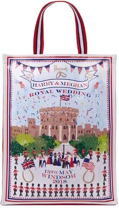 Harrods Medium Royal Wedding Windsor Shopper Bag