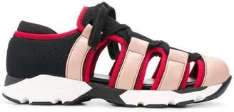 Marni open design sneakers
