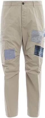 DSQUARED2 Patch Applique Trousers