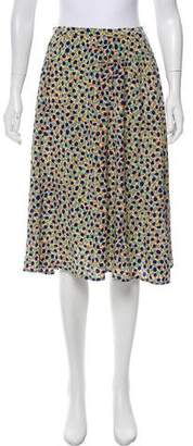 Marc Jacobs Printed Knee-Length Skirt
