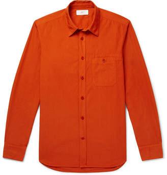 Mr P. Garment-Dyed Cotton-Poplin Shirt