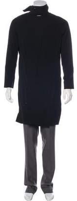 Rick Owens Officer Virgin Wool-Blend Coat