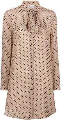 RED Valentino polka dot print blouse