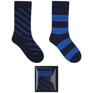 Gant GantBoys Navy Socks Set (2 Pairs)