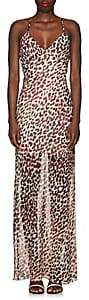 On The Island Women's Leopard-Print Silk Maxi Dress - Cream
