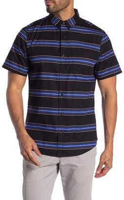 Public Opinion Patterned Short Sleeve Woven Regular Fit Shirt