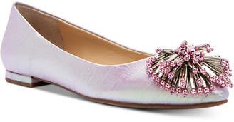 Katy Perry Rayann Shiny Woven Ballet Flats Women Shoes