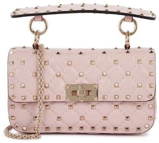 Valentino Rockstud Spike Small Pink Shoulder Bag