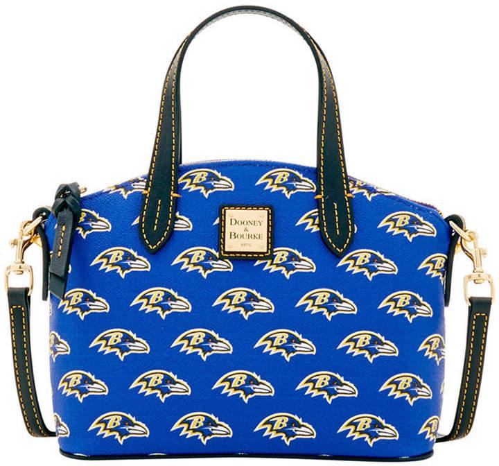 Dooney & Bourke Baltimore Ravens Ruby Mini Satchel Crossbody - BLACK - STYLE