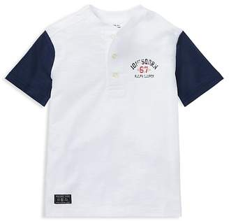 Polo Ralph Lauren Boys' Cotton Henley Tee - Little Kid