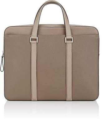 Delvaux Men's Double-Handle Briefcase