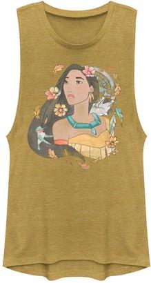 eee5ffcfddf74 Juniors  Disney s Pocahontas Graphic Muscle Tank