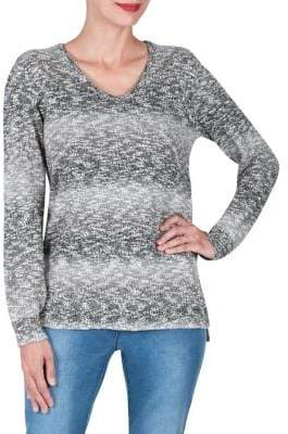 Haggar Wilderness Long Sleeve Ombre Sweater
