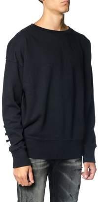 Faith Connexion Oversized Fit Black Cotton Sweatshirt