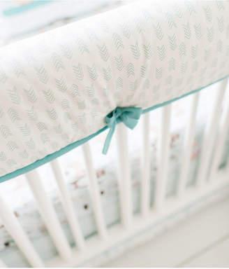 My Baby Sam Forest Friends Crib Rail Cover Bedding