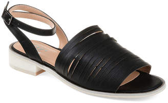 Journee Collection Womens Jc Louise Ankle Strap Flat Sandals