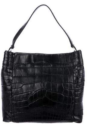 Prada Crocodile Shoulder Bag