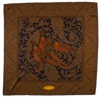 Ralph Lauren Printed Silk Scarf