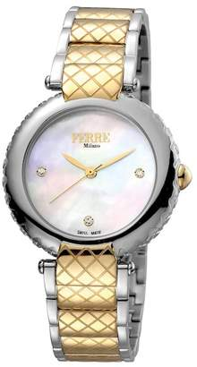 Ferré Milano Women's Swiss Ronda 763E Watch, 34mm