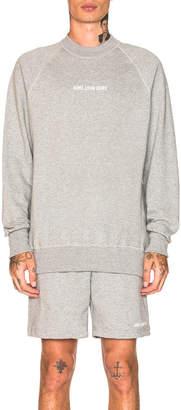 Leon Aime Dore Logo Crewneck Sweatshirt