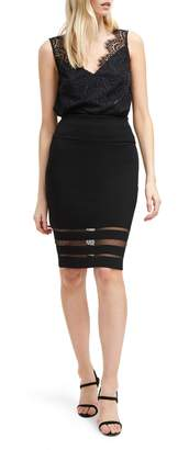 French Connection Kara Crepe Skirt