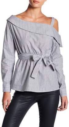 Romeo & Juliet Couture ROMEO &JULIET COUTURE One-Shoulder Collar Blouse