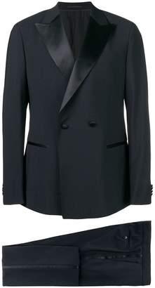 Ermenegildo Zegna satin trim two piece dinner suit
