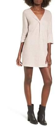 Dee Elly Knot Front Sweater Dress