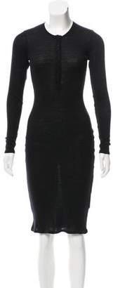 Totem Wool Midi Dress