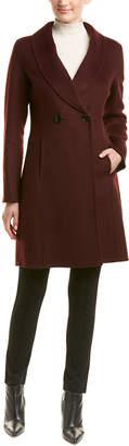 T Tahari Tahari Caleigh Wool-Blend Coat
