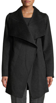 T Tahari Nicky Double-Face Wool-Blend Two-Tone Jacket