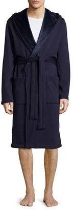 UGG Brunswick Wrap Robe, Navy $145 thestylecure.com