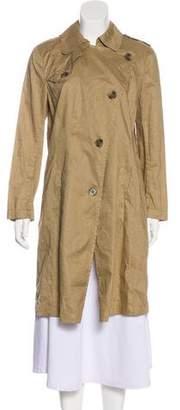Theory Knee-Length Trench Coat