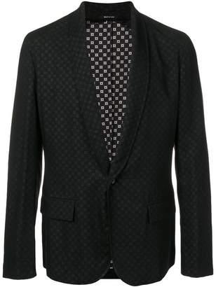 Maison Margiela geometric pattern blazer