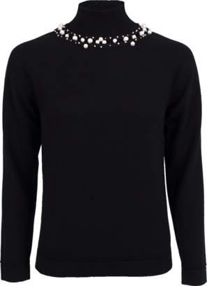 Oscar de la Renta Knit Pullover