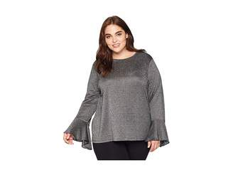 MICHAEL Michael Kors Size Long Sleeve Bell Sleeve Top
