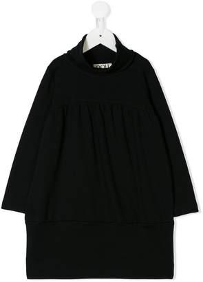 Douuod Kids long-sleeve flared dress