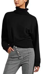 alexanderwang.t. Women's Twisted-Hem Wool Turtleneck Sweater - Black