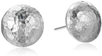 Gurhan Lentil Sterling Button Stud Earrings